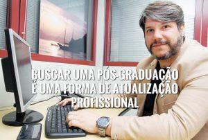 Buscar uma pós-graduação é uma forma de atualização profissional